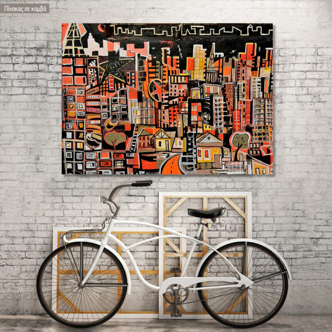 Canvas print Urban landscape, Cityscape