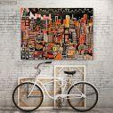 Πίνακας σε καμβά Αστικό τοπίο, Cityscape