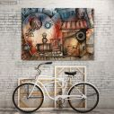 Canvas print Dream journey by train