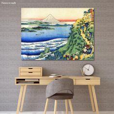 Canvas print 4/100 One hundred poems, Hokusai Katsushika