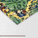 Canvas print 4/100 One hundred poems, Hokusai Katsushika, detail