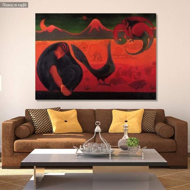Canvas print Nabis landscape, Ranson Paul