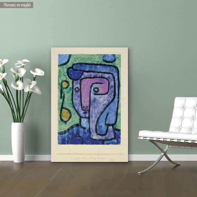 Canvas print Flora noctis, Klee P.