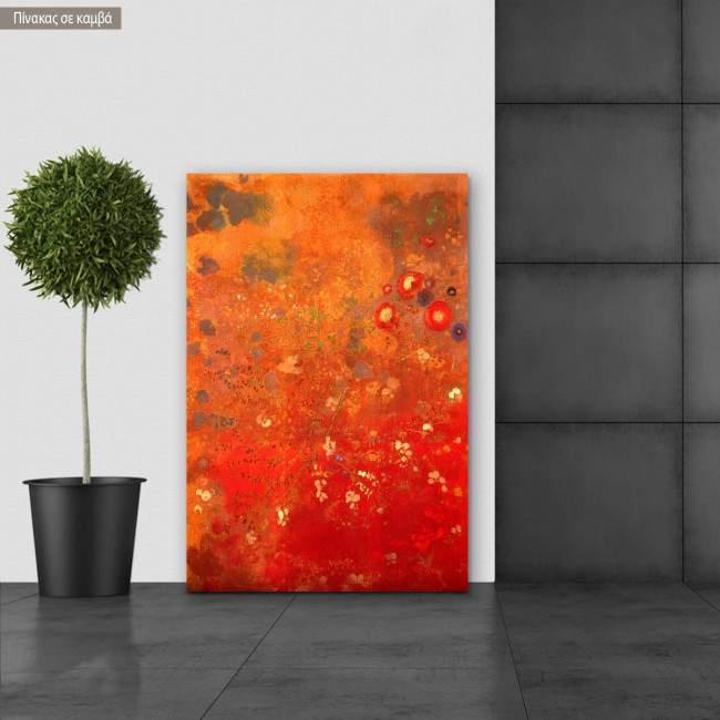 Πίνακας ζωγραφικής Flowers, Redon Odilon, αντίγραφο σε καμβά