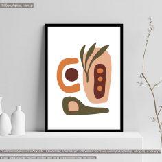 Natura modern abstract I, Poster