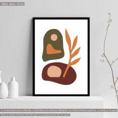 Natura modern abstract VΙ, Poster