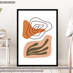 Natura modern abstract VIΙ, Poster