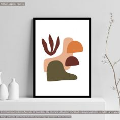 Natura modern abstract IX, Poster