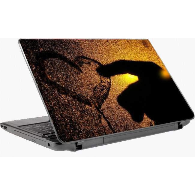Wet heart αυτοκόλλητο laptop
