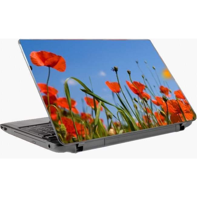 Παπαρούνες αυτοκόλλητο laptop