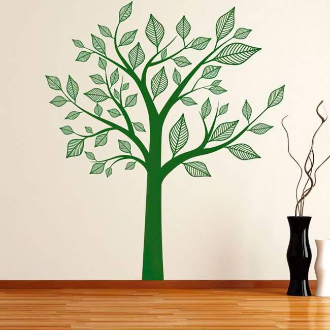Αυτοκόλλητο τοίχου αφηρημένο δέντρο, Abstract tree