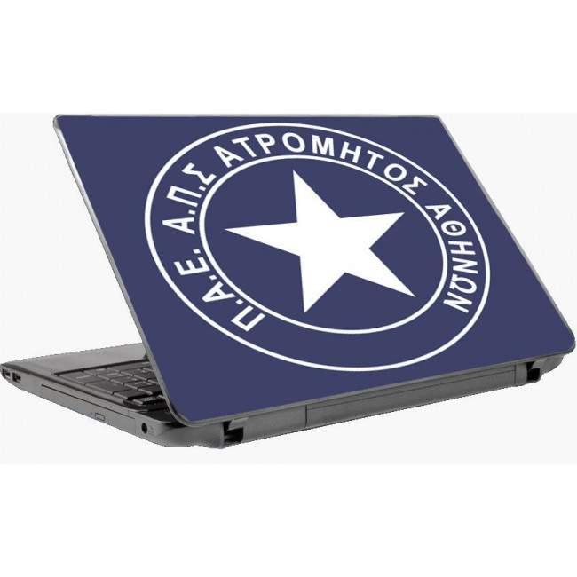 Ατρόμητος αυτοκόλλητο laptop