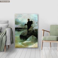 Canvas print  Farewell to the Black sea, Aivazovsky I.