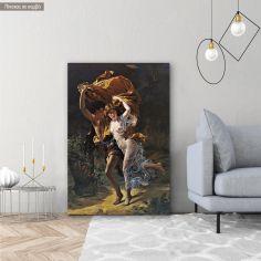 Πίνακας ζωγραφικής Η Καταιγίδα, Cot P. A, αντίγραφο σε καμβά