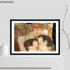 Mother and twins (detail), Klimt Gustav, αφίσα, κάδρο