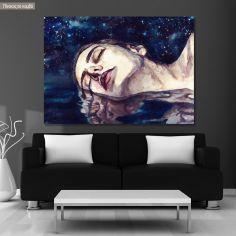 Πίνακας σε καμβά The new Ophelia