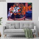 Πίνακας ζωγραφικής Still life with sunflowers, Gauguin Paul, αντίγραφο σε καμβά