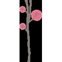 Butterflies tree 2, αυτοκόλλητο τοίχου, κοντινό