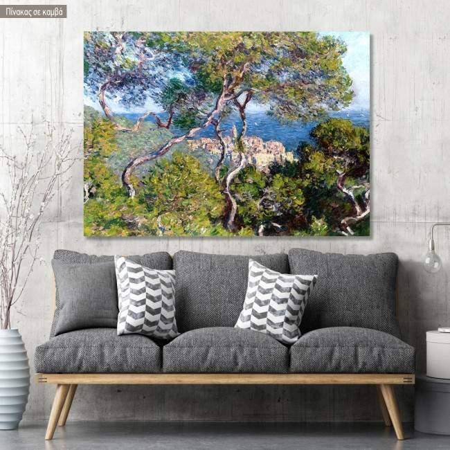 Canvas print Bordighera, Monet Claude
