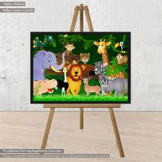 Jungle friends, poster