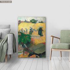 Πίνακας ζωγραφικής Haymaking, Gauguin P, αντίγραφο σε καμβά