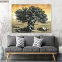 Πίνακας ζωγραφικής Ελιά, αντίγραφο σε καμβά, 2