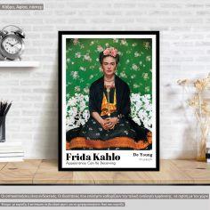 Αφίσα Έκθεσης Frida Kahlo, Appearance can be deceiving, αφίσα, κάδρο