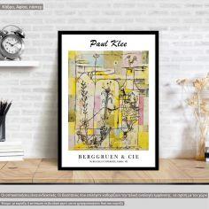 Αφίσα Έκθεσης Tale a la Hoffmann, Paul Klee, αφίσα, κάδρο