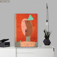 Πίνακας ζωγραφικής Clown, Klee P, αντίγραφο σε καμβά