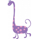 Kids wall stickers Happy dino