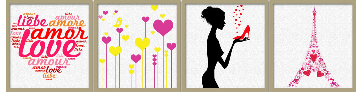 Wall stickers valentine day