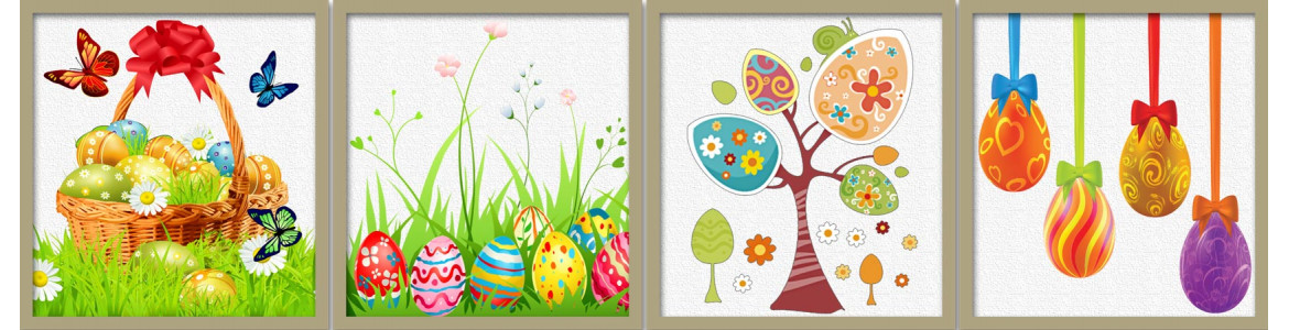 Wall stickers Easter