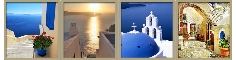 Ελλάδα, αυτοκόλλητα - ταπετσαρίες πόρτας