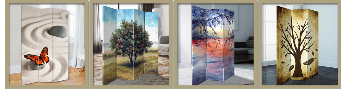 Room dividers nature