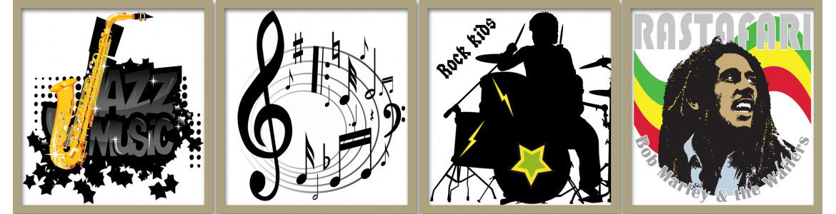 Wall stickers Music