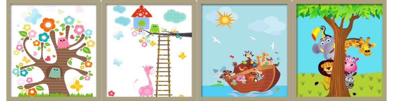 Παιδικά - βρεφικά, αυτοκόλλητα - ταπετσαρίες πόρτας