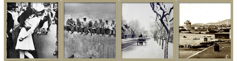 Πίνακες σε καμβά, παλιές φωτογραφίες
