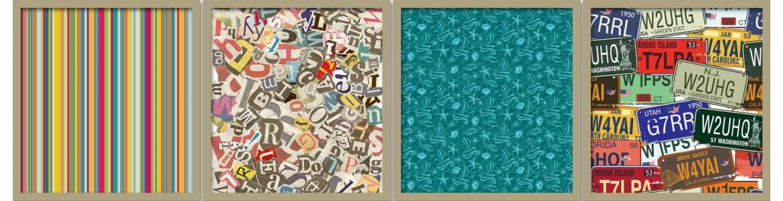 Door Stickers Patterns, textures