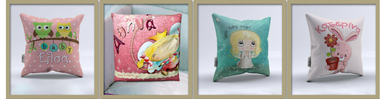 Docorative Pillows, Girls
