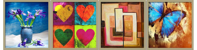 Πίνακες ζωγραφικής, μοντέρνοι