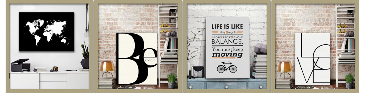Posters , typography