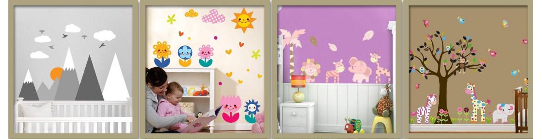 Αυτοκόλλητα τοίχου, παιδικό δωμάτιο, Φύση & τοπία