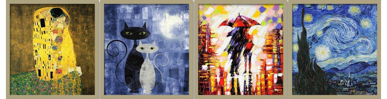 Ζωγραφική, αυτοκόλλητα πόρτας