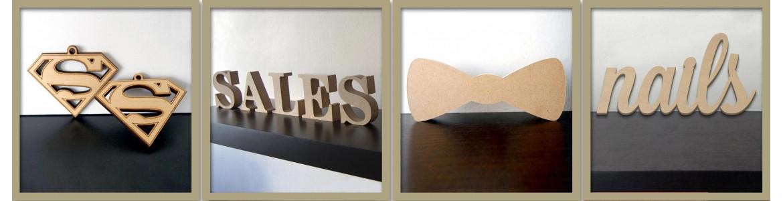 Διάφορα ξύλινα σχέδια