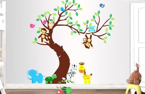 Παιδικά αυτοκόλλητα τοίχου