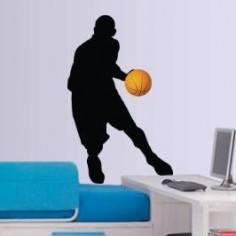 Αυτοκόλλητο τοίχου, Μπασκετμπολίστας
