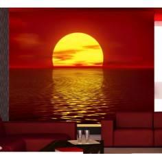 Ηλιοβασίλεμα, ταπετσαρία τοίχου φωτογραφική