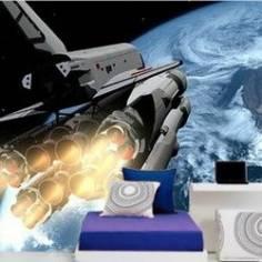 Διαστημικό Λεωφορείο ,Φωτογραφική ταπετσαρία