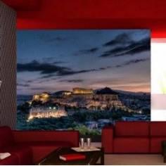 Ταπετσαρία τοίχου, Ακρόπολη