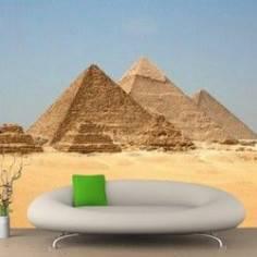 Πυραμίδες, Φωτογραφική ταπετσαρία
